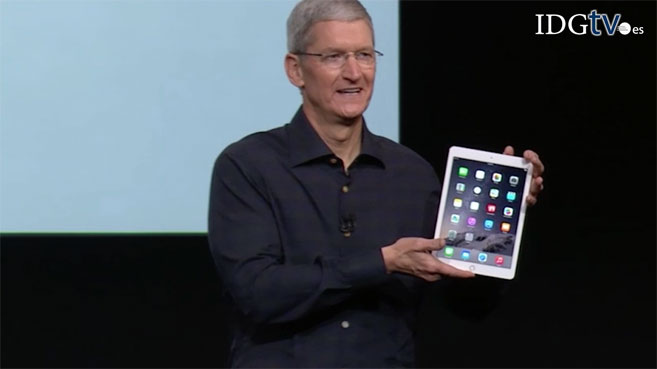 Apple presenta el iPad Air 2 y iPad Mini 3, m�s finos y r�pidos