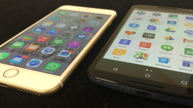 iPhone 6 Plus vs Nexus 6