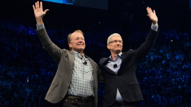 Apple y Cisco alianza