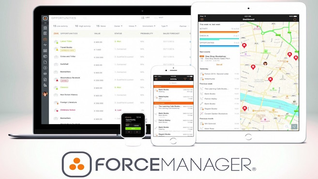 App para Apple Watch desarrollada por ForceManager