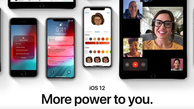 apple ios 12 iphone ipad