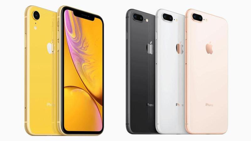 comparativa iphone xr iphone 8 plus thumbnail