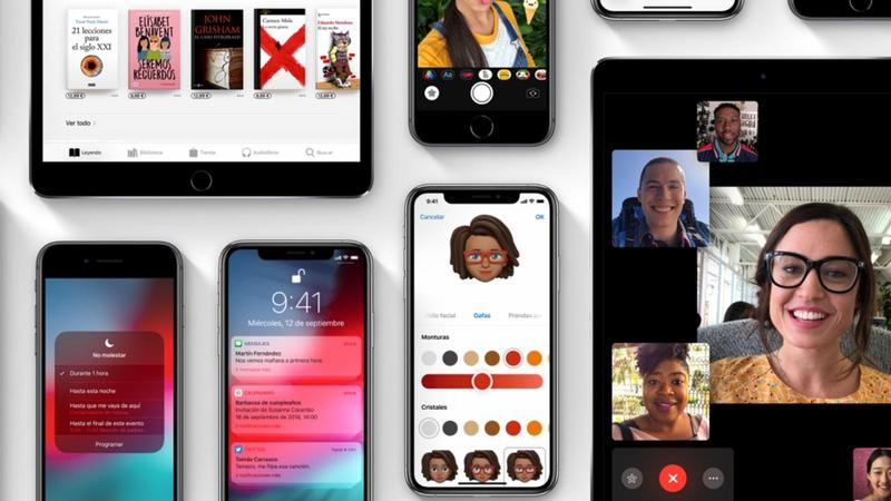 ios 12 dispositivos