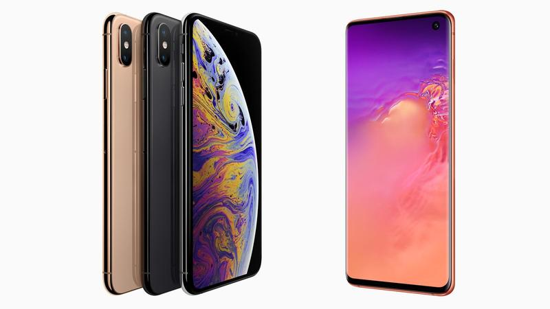 comparativa iphone xs galaxy s10 thumbnail
