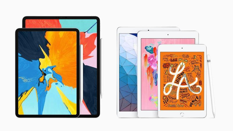 comparativa ipad mini 5 ipad air 2019