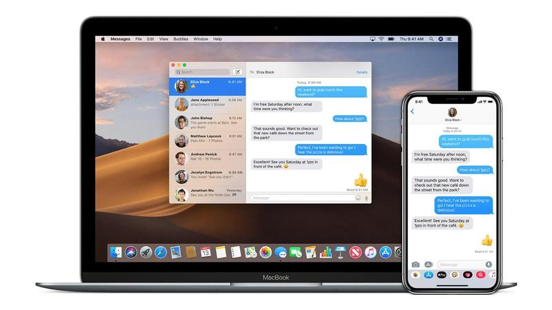 iphone x macbook hero imessage how to