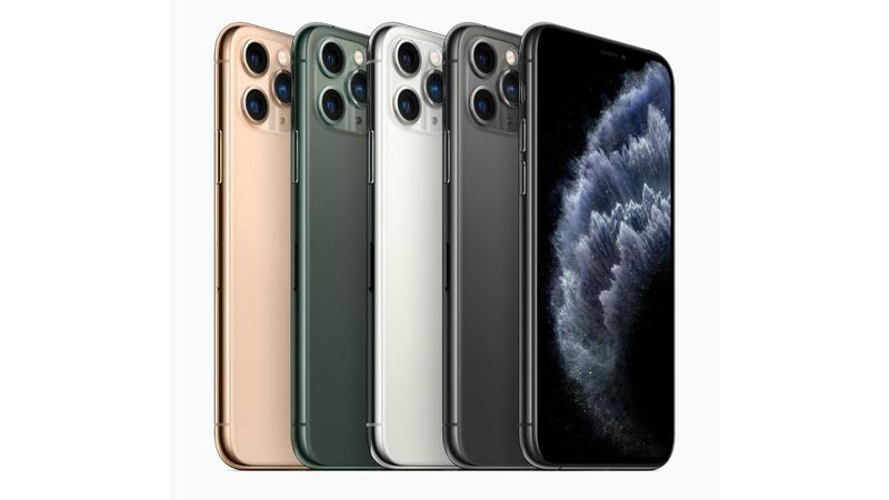 apple iphone 11 pro colors 091019