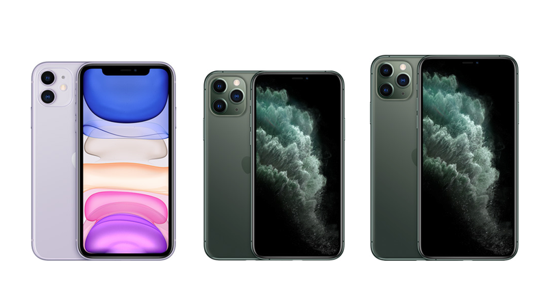 comparativa iphone 11 iphone 11 pro iphone 11 pro max apple
