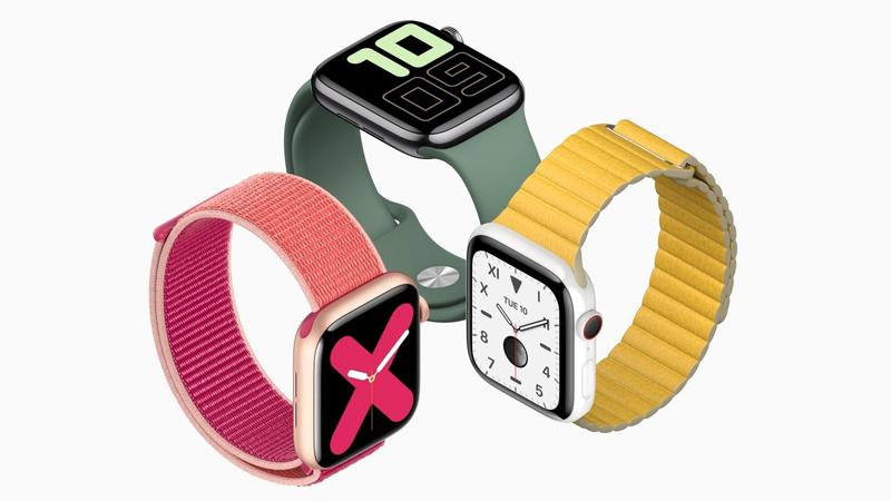 comparativa apple watch series 5 series 4