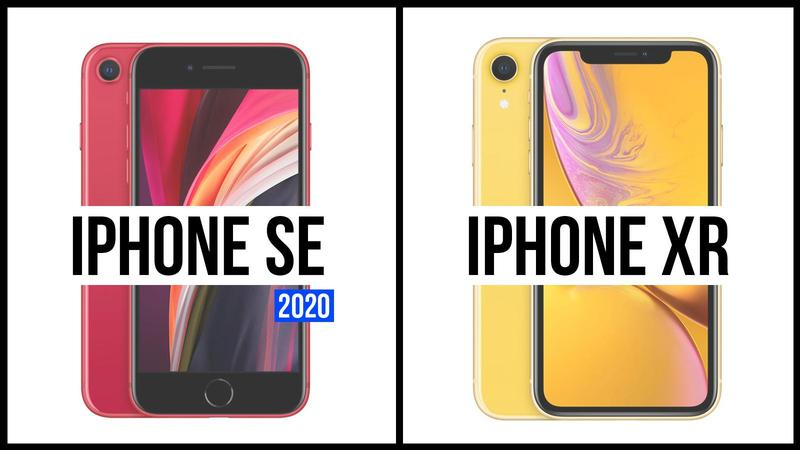 comparativa iphone se 2020 iphone xr