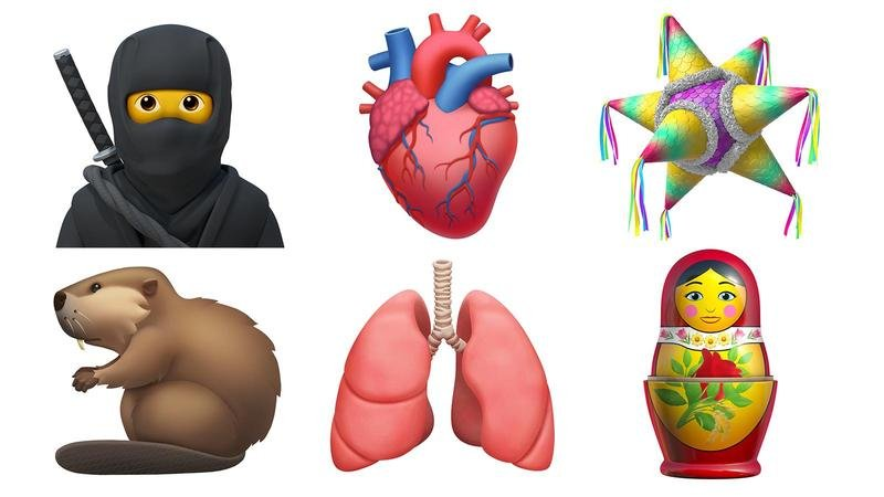 Apple introduces 13 new icons (find here)