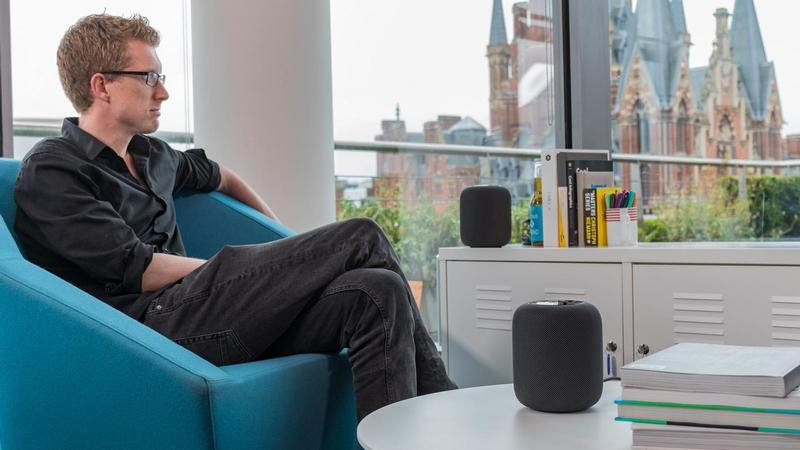 apple homepod estereo