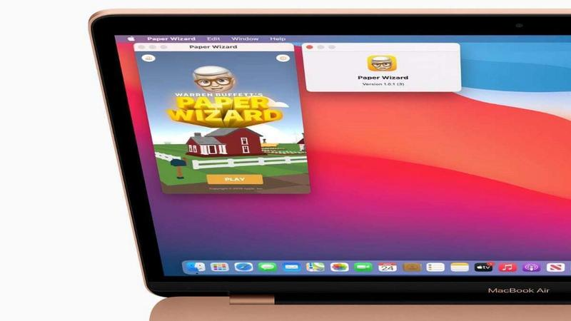 macbook air m1 ios app