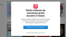 Cyber Monday: Apple Music con 4 meses de regalo