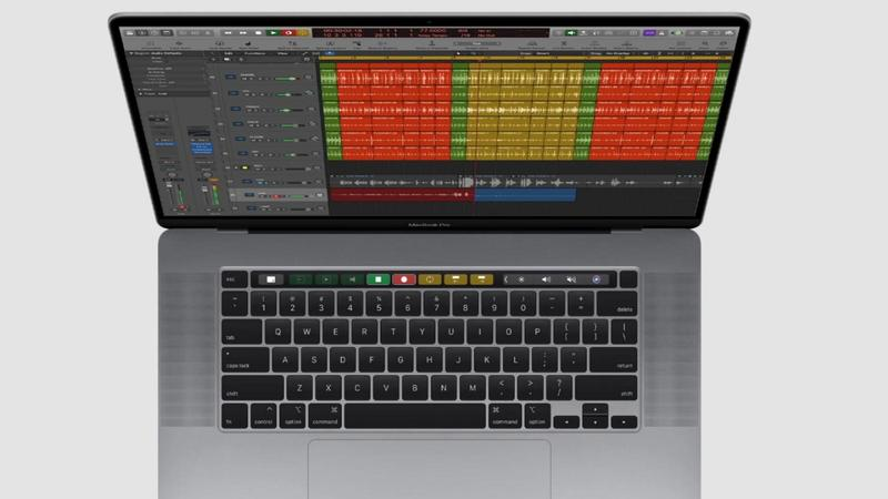 macbook con musica