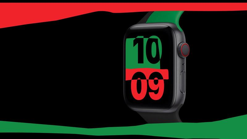 black unity collection apple watch