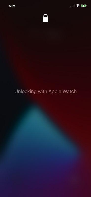 Apple Watch para desbloquear el iPhone