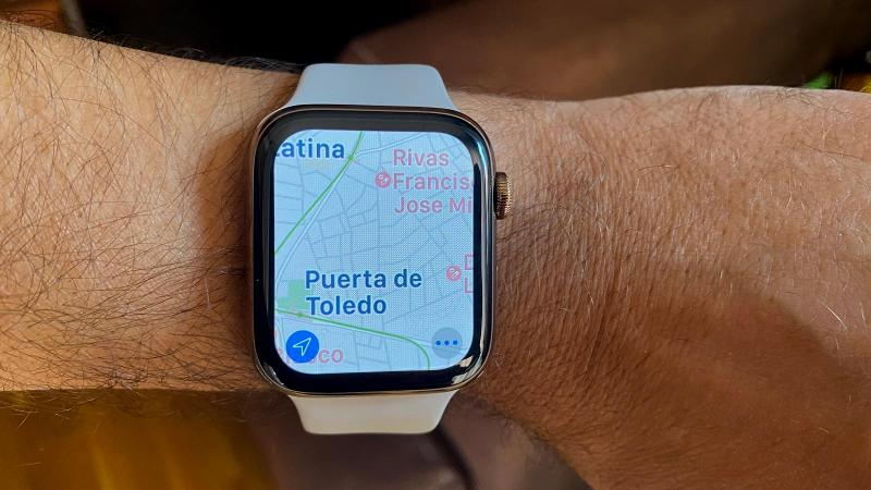 como usar mapas en apple watch principal