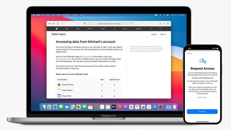 how to access an iphone ipad or mac when the owner passes away main