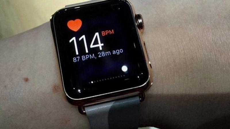 apple watch pulsaciones