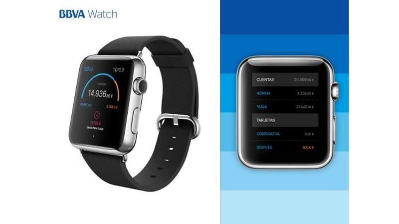 bbva apple watch
