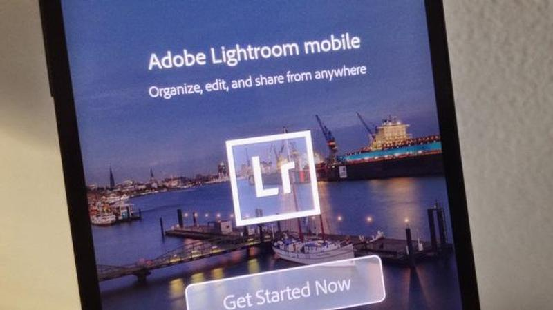 lightroom android smartphone