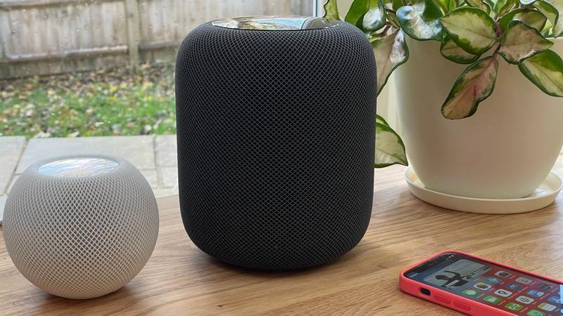 HomePod mini y HomePod