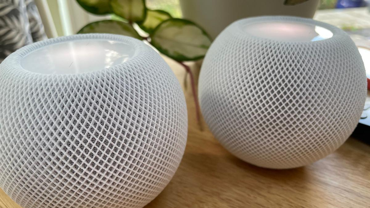 Apple HomePod mini emparejados