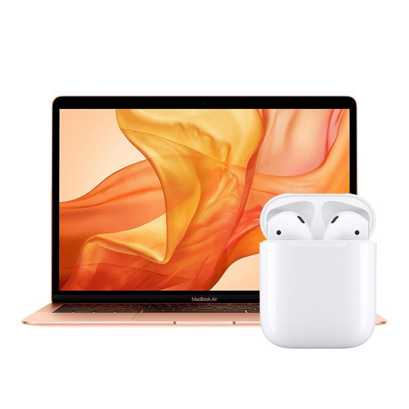vuelta cole apple macbook air airpods