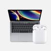 vuelta cole apple macbook pro airpods