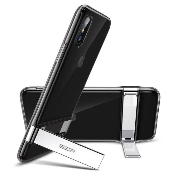 iPhone XS / X Metal Kickstand Case by ESR