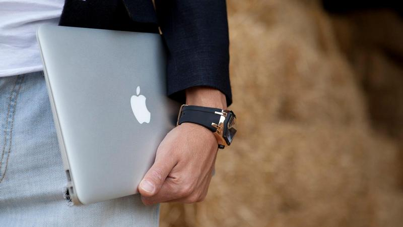 macbook air usuario lifestyle