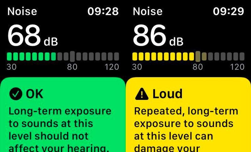 8. Check the ambient noise levels